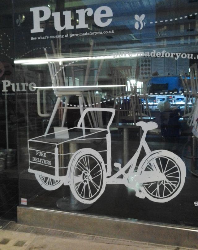 Christiania - Sign on Pure window