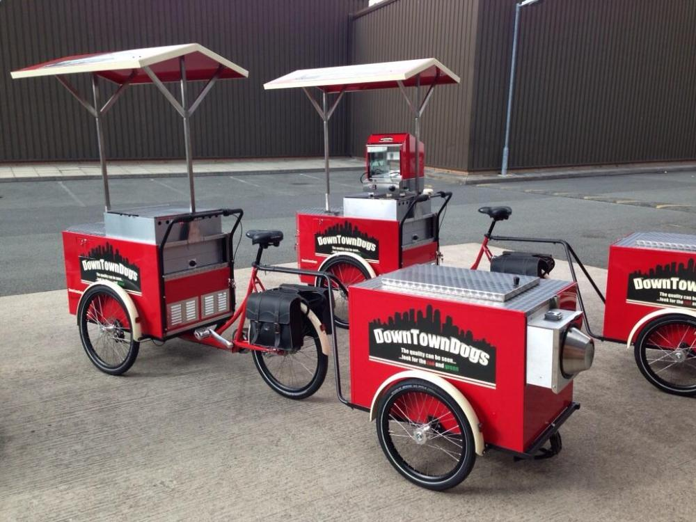 Christiania - Catering, Hot dogs by Mudguard media