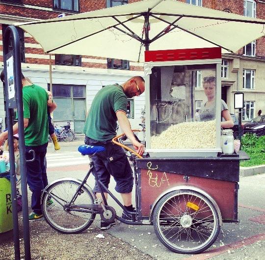 Christiania - Catering, Popcorn in Copenhagen