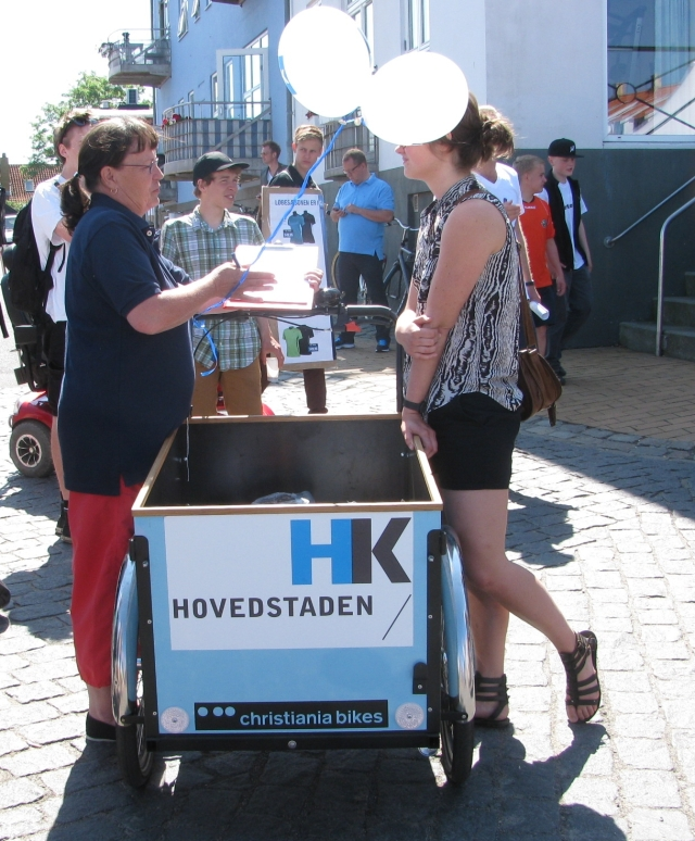 Christiania - Event, Allinge, blue box