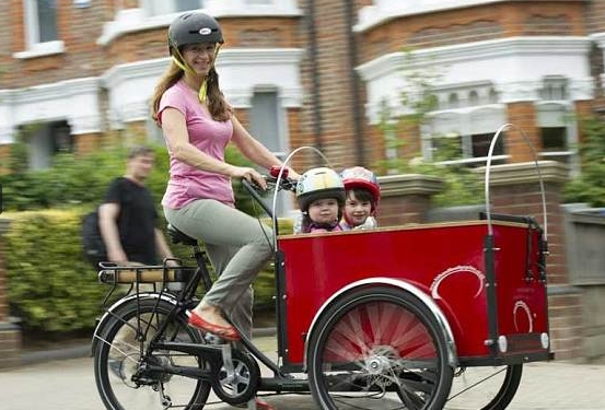 The Richard And Judy Of The Family Cargo Bike Industry